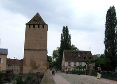 Ponts Couverts in Strasbourg, #France #bridge #beautifulplaces