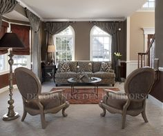 Living Room designs by Decorating Den Interiors. Want this look? Call The Landry Team to set up your FREE consultation 817-472-0067. Visit our website TheLandryTeam.DecoratingDen.com