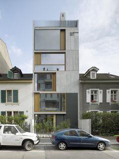 Tall Narrow House | buchner bründler architekten | photos: ruedi walti