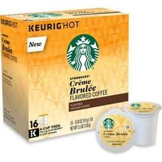 Starbucks For Keurig Starbucks For Keurig 16-Count Crème Brulee Coffee For Single Cup Coffee Makers Multi 16 Ct