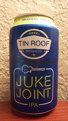 Cerveja Tin Roof Juke Joint IPA, estilo India Pale Ale (IPA), produzida por Tin Roof Brewing, Estados Unidos. 7% ABV de álcool.