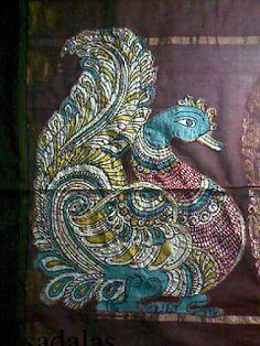 Sadala's Embroidery: Applique kalamkari saree