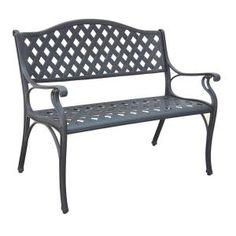 Garden Bench 3 Seater Wooden Cast Iron Leg Outdoor Patio Furniture