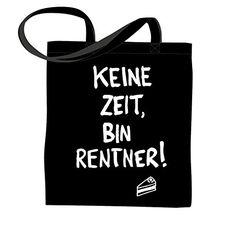 "Schwarzer Jutebeutel ""KEINE ZEIT, BIN RENTNER"" Heimspiel ... https://www.amazon.de/dp/B00OBRASO6/ref=cm_sw_r_pi_dp_x_fDHlybXVJZ525"