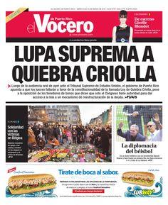 Edición 23 de Marzo 2016  El Vocero de Puerto Rico