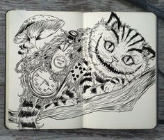 The Chesire Cat Tattoo ideas in the future maybe