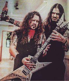 Dimebag Darrell and phil anselmo