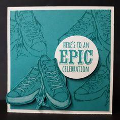 SAB 2018, Epic Celebration, gemaakt door Ilona de Bont, onafhankelijk Stampin Up! demonstratrice