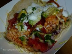 Curry Salmon Tacos