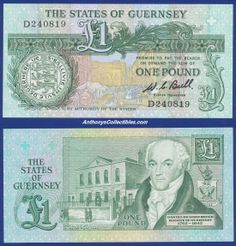 Guernsey 1980 1 Pound Note
