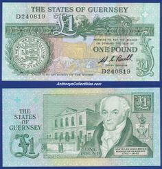 Guernsey 1980 1 Pound Note