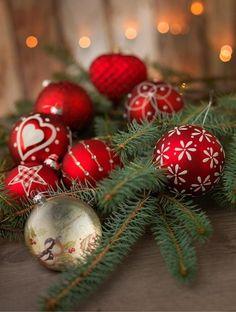 ❧ X-mas in red and green - Noël en rouge et vert✵❧