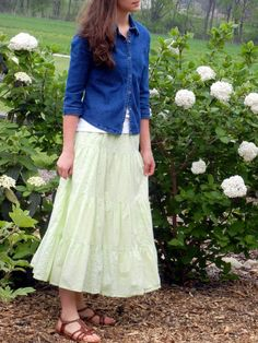 A Portrait Of Feminine Dress, Part 2~ Mix-'N-MatchDeep Roots at Home