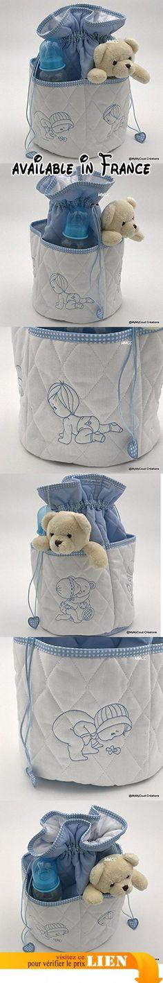 """trousse de toilette bébé """"Création Fait Main"""".  #Guild Product #GUILD_BABY"""