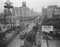 History of Tokyo Old Photos, Vintage Photos, Japan Spring, Mystery Of History, Japanese Streets, Modern City, Tokyo Japan, Landscape Photographers, Asia Travel
