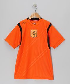 Loving this Orange Holland International Series Jersey - Boys & Men's Regular on #zulily! #zulilyfinds