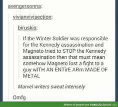 You do realize that Magneto's attempt to save Kennedy was done in non-Marvel.movie-verse and in another timeline, correct?