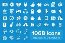 1471 icons in Eldorado set ~ Icons on Creative Market