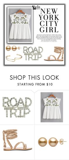 """""""New York girl"""" by jagod4-6 ❤ liked on Polyvore"""
