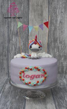 Taart eenhoorn /unicorn cake