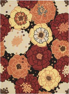 Nourison Home and Garden RS021 Area Rug
