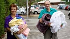 Citizens evacuating their homes when the bush fires hit. (Social, Economic)