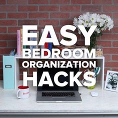 The Best Bedroom Organization Hacks #DIY