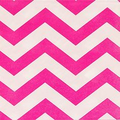 Neon Pink Chevron Party Napkins * You can get more details by clicking on the image. (This is an affiliate link)
