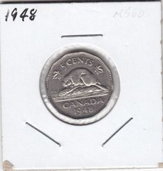 Top 10 Rare Canadian Nickels My Road to Wealth and Freedom - Bit Coin - Ideas of Bit Coin - 1948 5 cents Rare Coins Worth Money, Valuable Coins, Antique Coins, Old Coins, Maple Leaf Images, Thousand Dollar Bill, Penny Values, Canadian Coins, American Coins