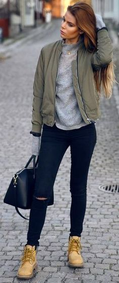 girly wishlist bomber jacket