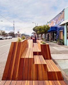 Galería - Sunset Parklet, una plazoleta diseñada por INTERSTICE Architects - 5