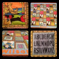 A quilted blanket I made for my nephew Wilson in 2012.