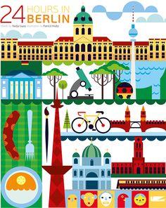 Berlín es mucho más que una ciudad dividida durante 40 años por un muro.