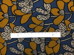 Japanese Linen and Cotton Textured Print