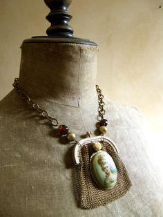 Madam Oliviet - Assembled Art Necklace