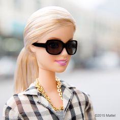 """Ready for a new week, let's make it a bright one!  #barbie #barbiestyle"""