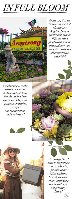 Beyond the Brow | Official Blog of Anastasia Beverly Hills - Around Town: A Visit to the Garden Center!