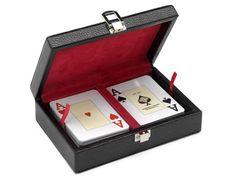 Canasta poker en caja de polipiel - www.mentesdiferentes.com