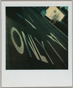 Walker EVANS ::Street Lettering and Arrows, Dec. 1973