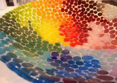 Glass art by Rikke Pape