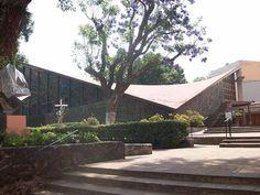 Capilla Nuestra Señora de la Soledad, Felix Candela y Enrique de la Mora. Image Cortesía esacademic.com