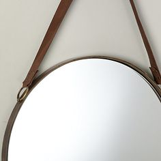 Buy Brass John Lewis & Partners Ronda Round Hanging Mirror, from our Mirrors range at John Lewis & Partners.