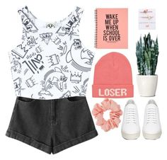 """""""Chocolate// The 1975"""" by blood-under-the-skin ❤ liked on Polyvore featuring River Island, Chicnova Fashion, Civil, Venessa Arizaga, Miss Selfridge, Off-White, women's clothing, women, female and woman"""