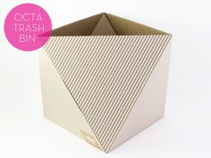 awesome waste paper basket!