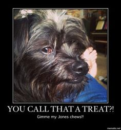 That's not a treat!