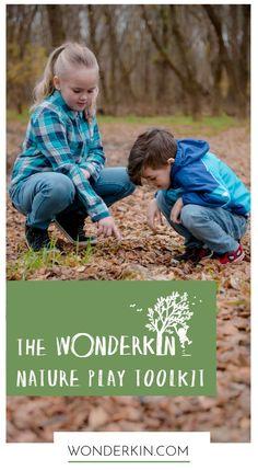 Wonderkin — Introducing The Wonderkin Nature Play Toolkit Nature Activities, Outdoor Activities, Activities For Kids, Ways Of Learning, Kids Learning, The Thing Is, Outdoor Adventures, Outdoor Play, Parenting Advice