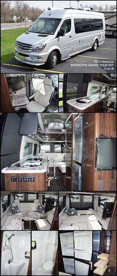 This new 2015 Interstate GRAND TOUR EXT by AIRSTREAM offers all the amenities and comforts of a home away from home with the quality, easy maneuverability and convenience of Airstream and Mercedes-Ben