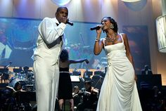 The superstars performed together at Jay-Z's concert at Radio City Music Hall in NYC