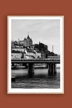 Tambur Gallery | Mariaberget 50x70cm | TAMBURSTORE.SE Stockholm, Fine Art, Prints, Painting, Painting Art, Printed, Paintings, Painted Canvas, Art Print