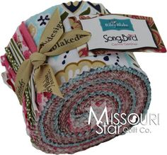Song Bird Jelly Roll from Missouri Star Quilt Co